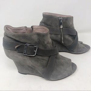 Vince Camuto Pamari suede ankle boots